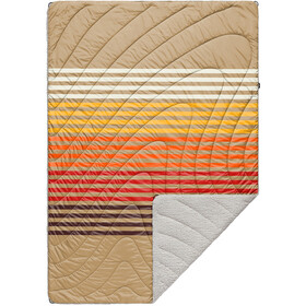 Rumpl Printed Sherpa Puffy Blanket 1P, desert grade